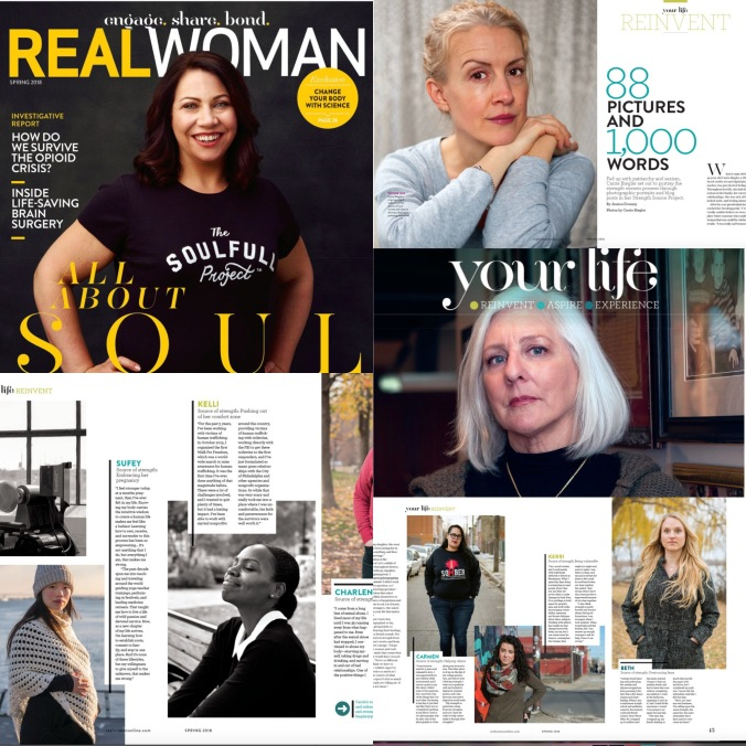 magazine article collage